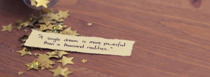 A Single Dream....