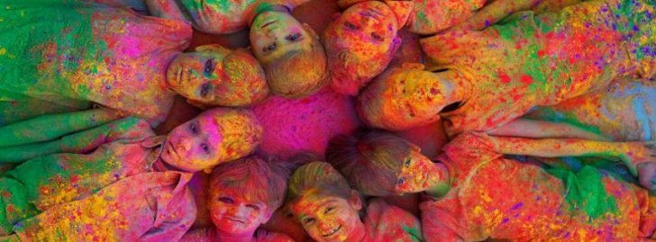 Best Colorful Holi Festival