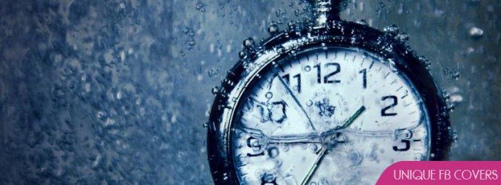 Clocks Underwater Water Timeline Facebook Cover