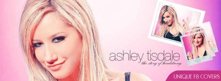 Cute Ashley Tisdale Facebook Cover