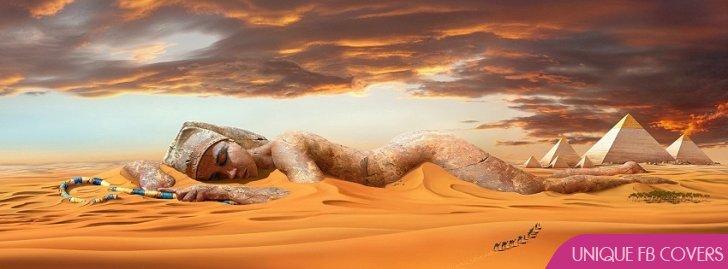 Egypt Desert Statue Fv Cover