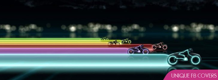 Facebook Cover Tron Bikes Lights15