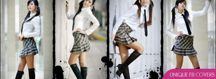 Hwang Mi Hee Sexy School Girl Cover