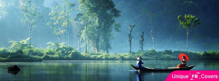 In Boat Fisherman And Girl