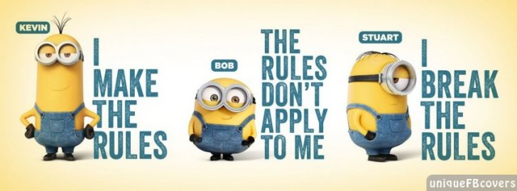 Minion Facebook Covers | Cartoon Fb Cover - Facebook ...