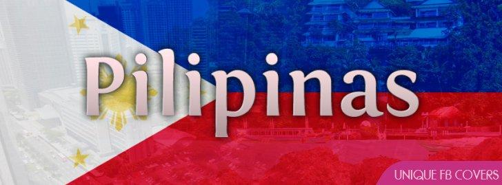Pilipinas Philippines Flag Facebook Cover