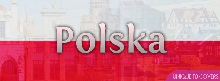 Polska Poland Flag Facebook Cover