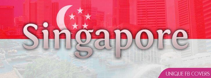 Singapore Flag Facebook Cover