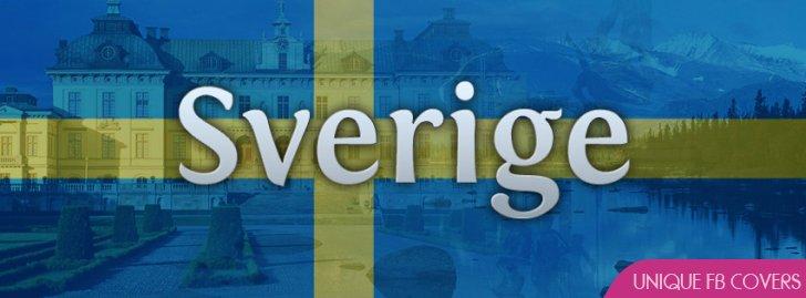Sverige Sweden Flag