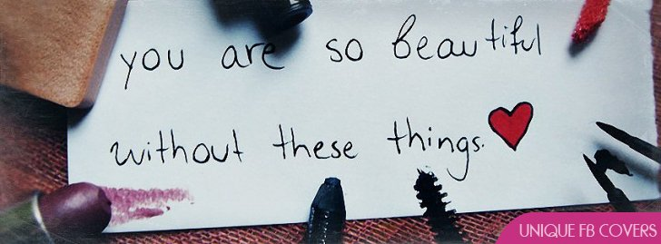 You Are So Beautiful Fb Cover