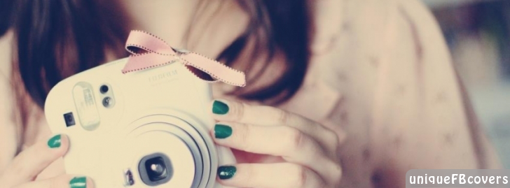 Cute Girl With Her Gift Camera Girly