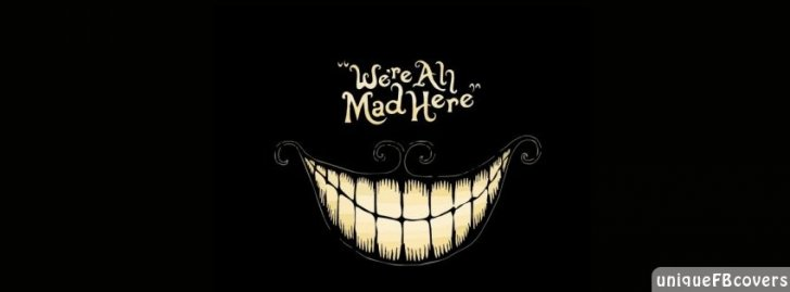 Mad Here Wallpaper