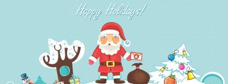 Santa Claus Happy Holidays