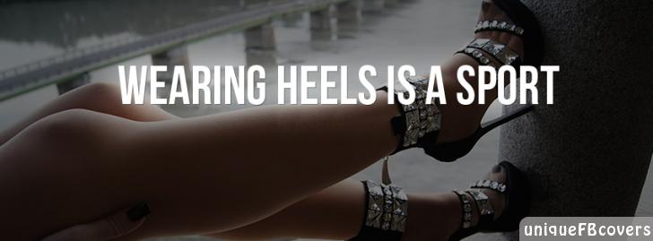 Wearing Heels Is A Sport