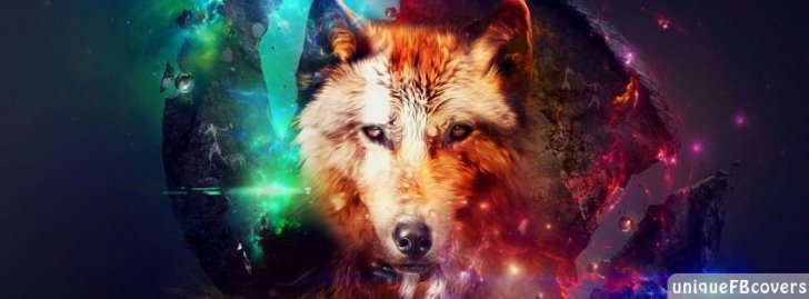 Wolf In Space Artistic