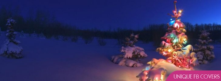 Christmas Tree Facebook Covers