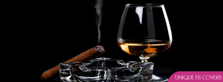 Cigar With Wine Facebook Covers Alcohol Fb Cover