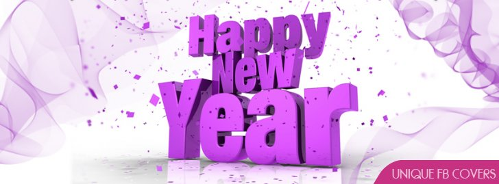 Happy New Year Facebook Covers | New Year Fb Cover ...