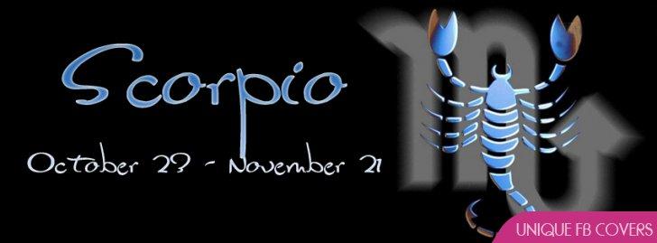 Scorpio Profile Facebook Covers | Zodiac Fb Cover - Facebook ...