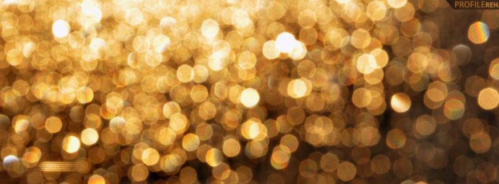 Gold Lights Blur Facebook Covers | 3D Fb Cover - Facebook Covers