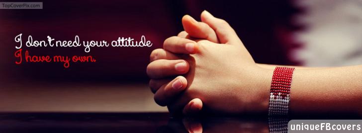 Download attitude facebook cover photos