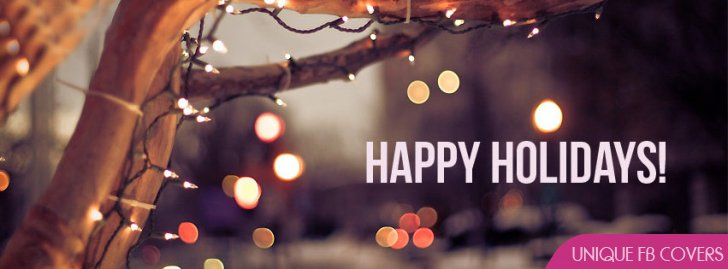 Happy Holidays ! Facebook Covers | Christmas Fb Cover ...
