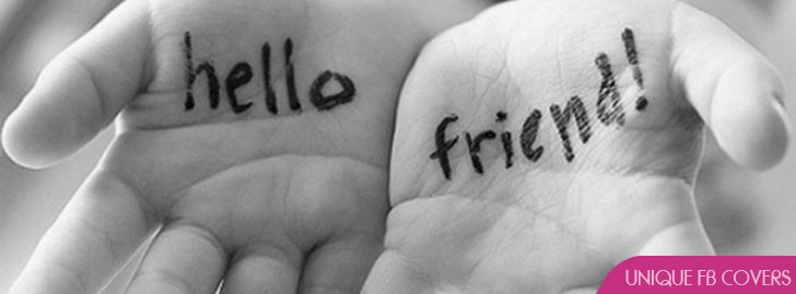 Hello Facebook Covers | Friendship Fb Cover - Facebook ...